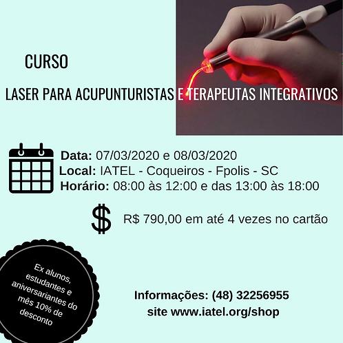 Curso de Laser para Acupunturistas e Terapeutas Integrativos