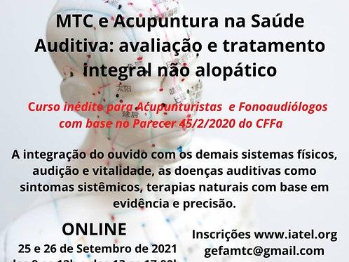MTC e Acupuntura na Saúde Auditiva