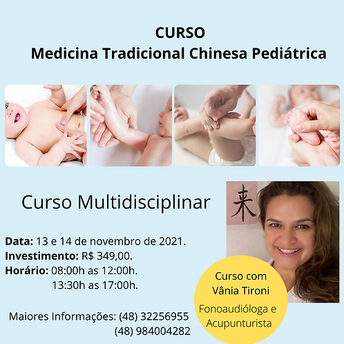 Medicina Tradicional Chinesa Pediátrica