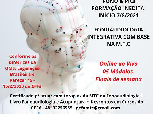 Curso de formação livre em Fgia Integrativa com ênfase em MTC