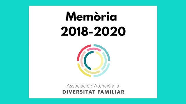 MEMÒRIA 2018-2020