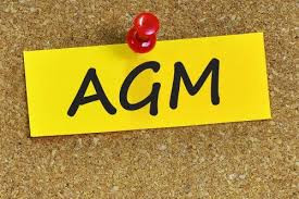 AGM meeting (update)