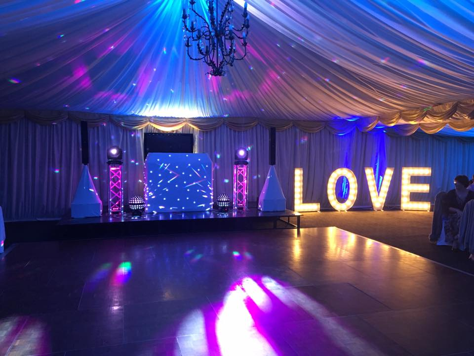 Wedding Love Lights Hire Suffolk