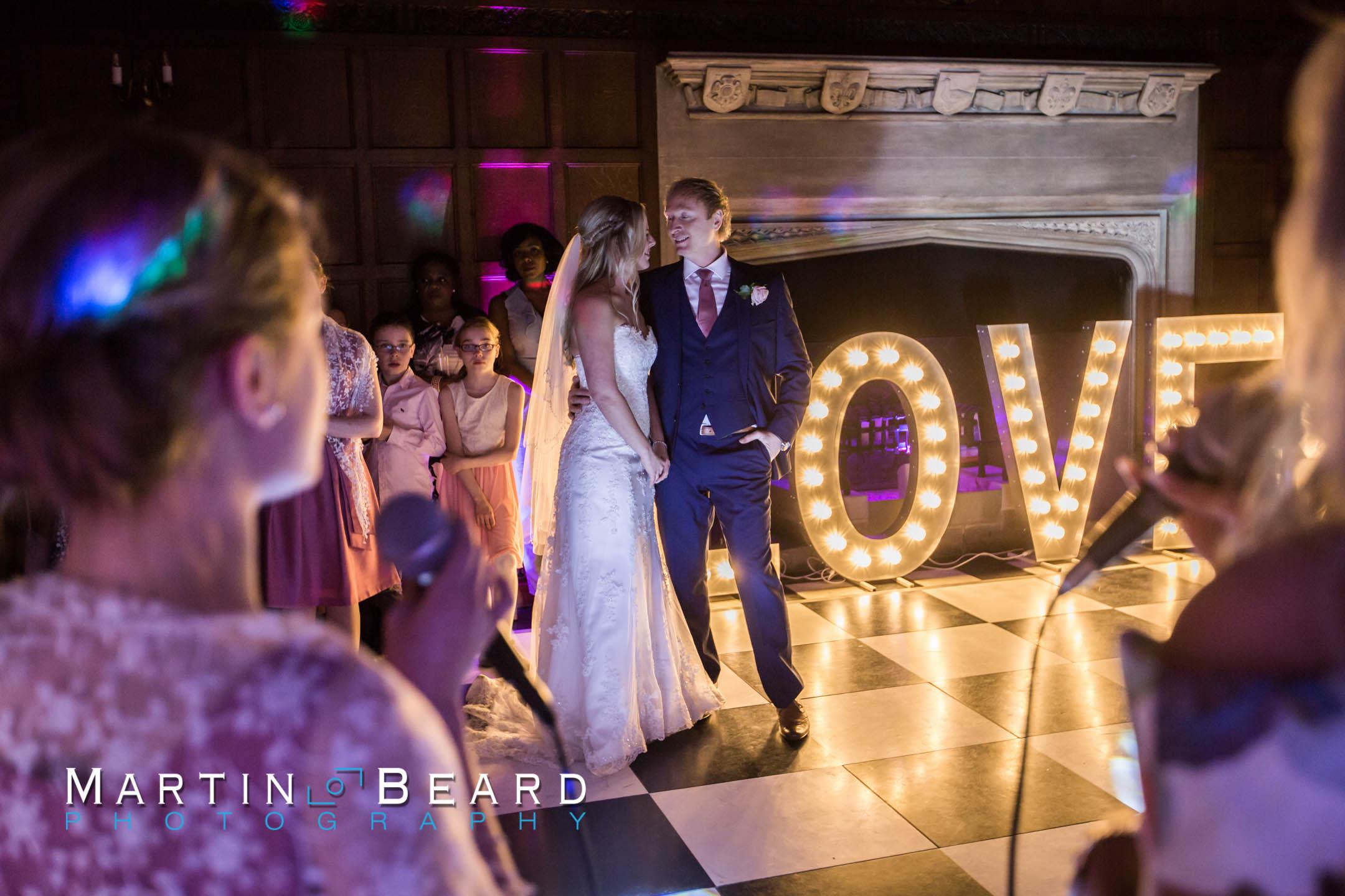 Wedding reception Hengrave Hall