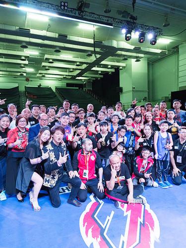 贊助「Energy Fight 2018 全港青少年搏擊大賽」