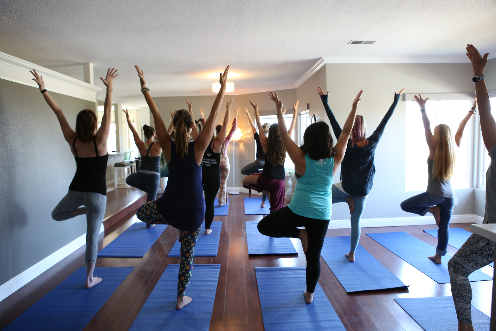 Yoga in the Main Space