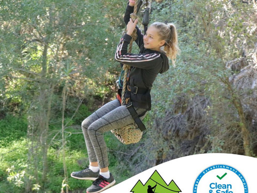 Parque Aventura: klimmen en ziplijnen