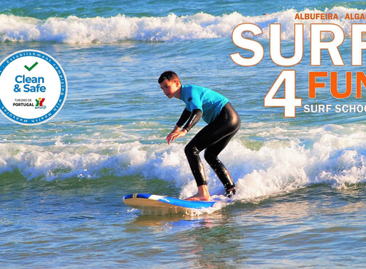 Suppen bij Albufeira Surf 4 Fun
