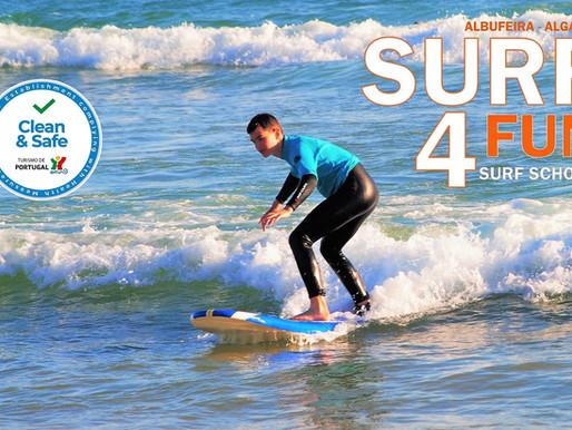 Suppen bij Albufeira Surf 4 Fun
