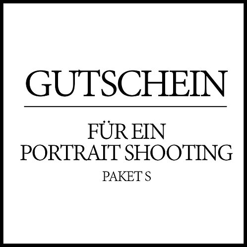 Gutschein Portrait Shooting S