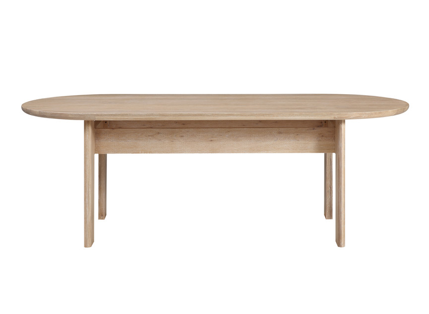 track dining table by untitled design agency