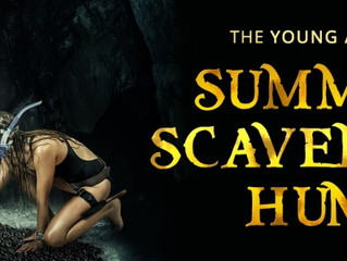 YA Scavenger Hunt Stop #96 - THE