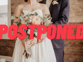 Postponing Your Wedding During This Covid Pandemic