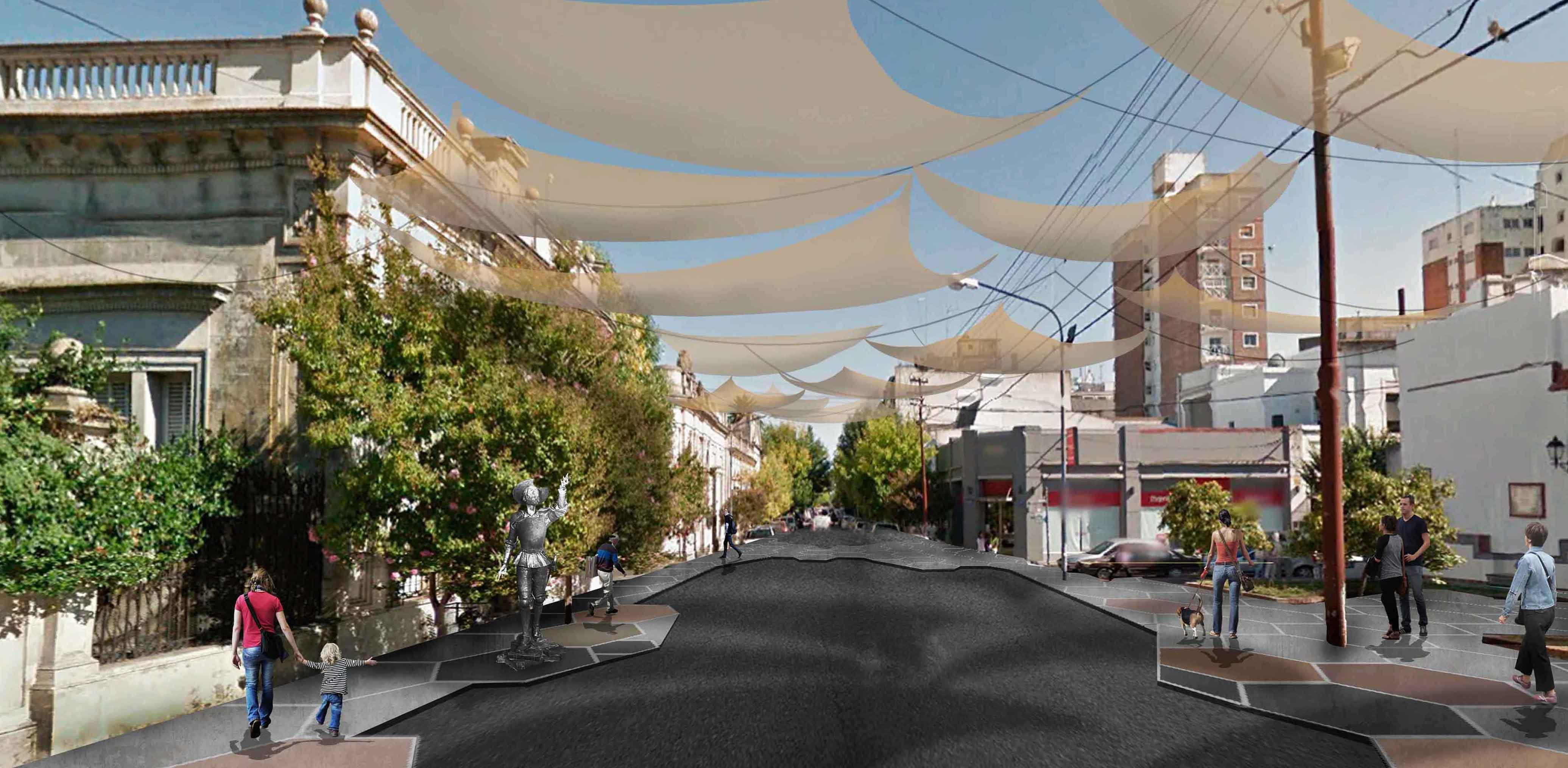 Proyecto urbano azul