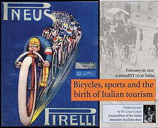 bicycles, sports, and the birth of itali