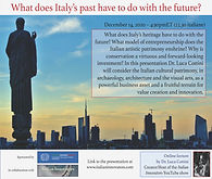 What does Italy's past have to do with i