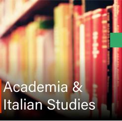Academia & Italian Studies