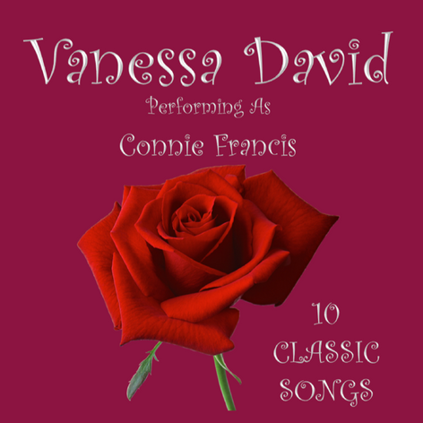 Vanessa David Performing As Connie Francis 10 Classic Songs