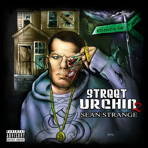 "Sean Strange - ""Street Urchin 2"" Audio Cd + Digital Album"