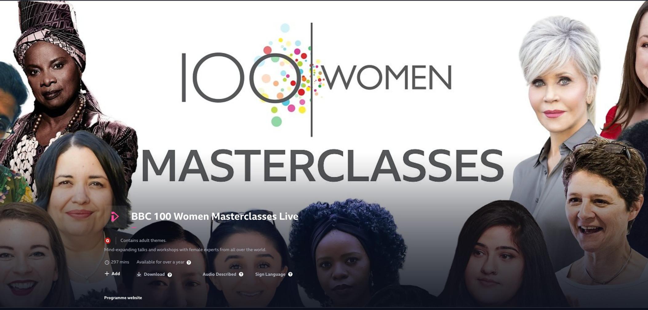 BBC 100 Women Season 2020
