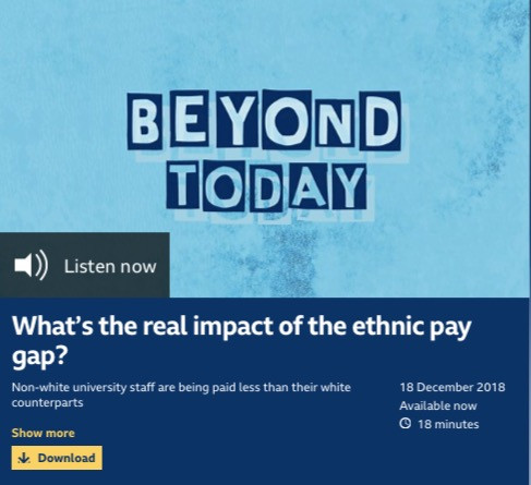 Podcast: What's the real impact of the ethnic pay gap?