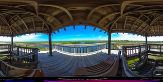 Manatee Preserve 360° Interactive Panorama @2017 Interactive Explorers, LLC.  All RIghts Reserved.