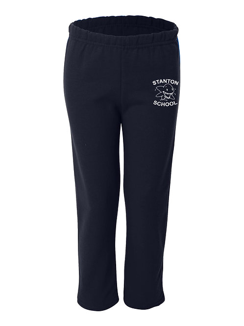 Stanton Youth Navy Sweatpants - 4A
