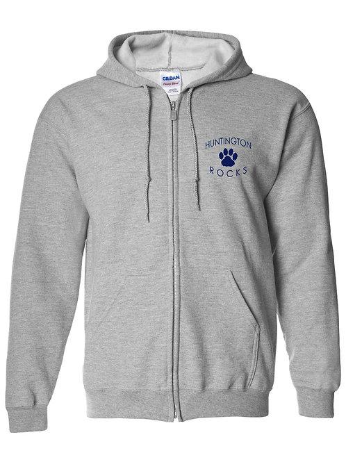 Huntington Adult Zip-Up Sweatshirt