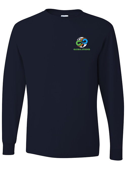 #7 Navy Long Sleeve T-Shirt