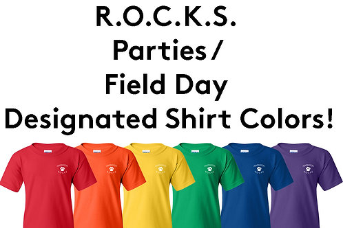 Huntington Official Grade Shirt Colors - Youth