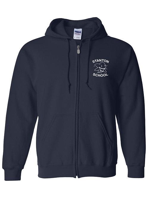Stanton Adult Zip-Up Sweatshirt - 8A