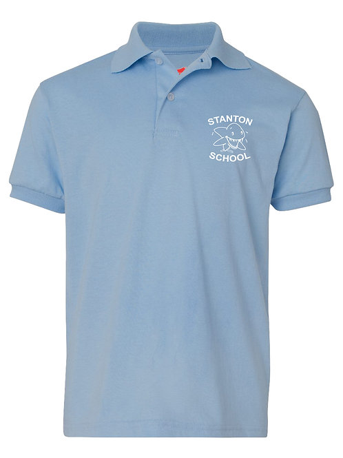Stanton Youth Light Blue Polo - 1A