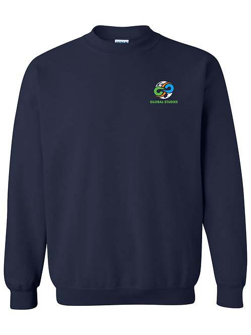#8 Navy Crewneck Sweatshirt