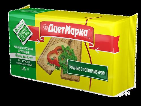 Хлебцы-пластинки РЖАНЫЕ с топинамбуром