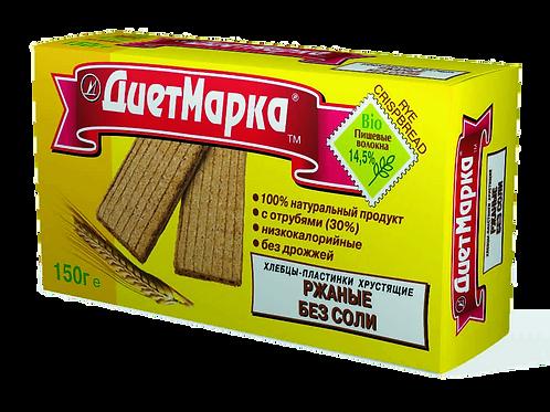 Хлебцы-пластинки РЖАНЫЕ Без соли