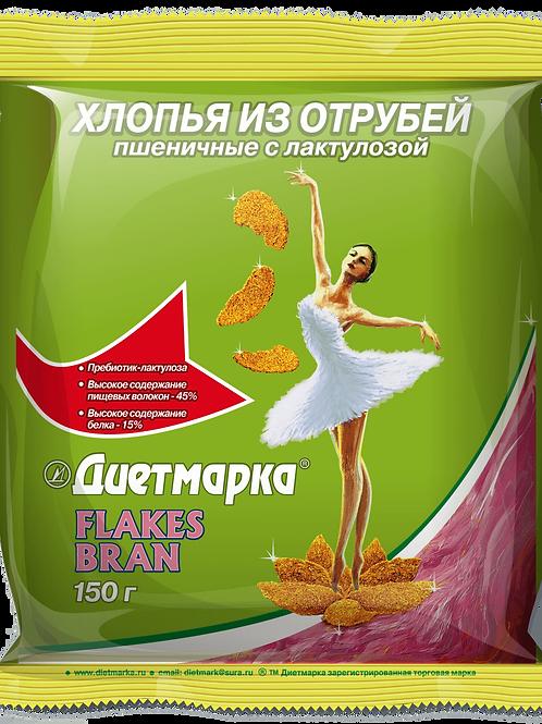 """""""Хлопья из отрубей"""" FLAKES BRAN, пшеничные"""