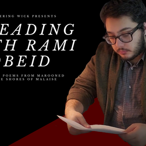 A Reading With Rami Obeid
