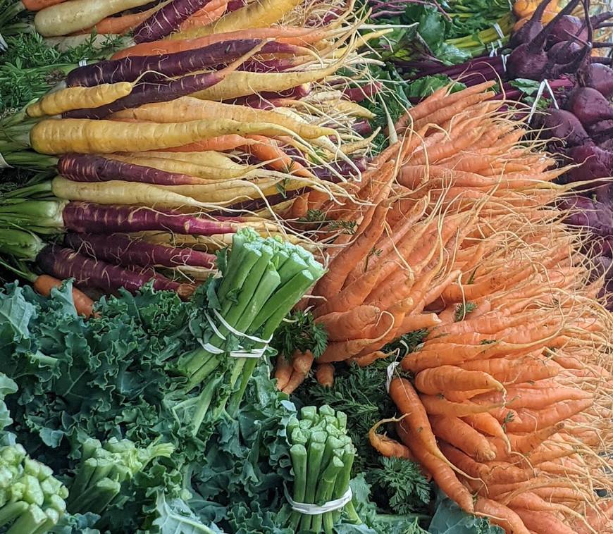 Carrots & Kale