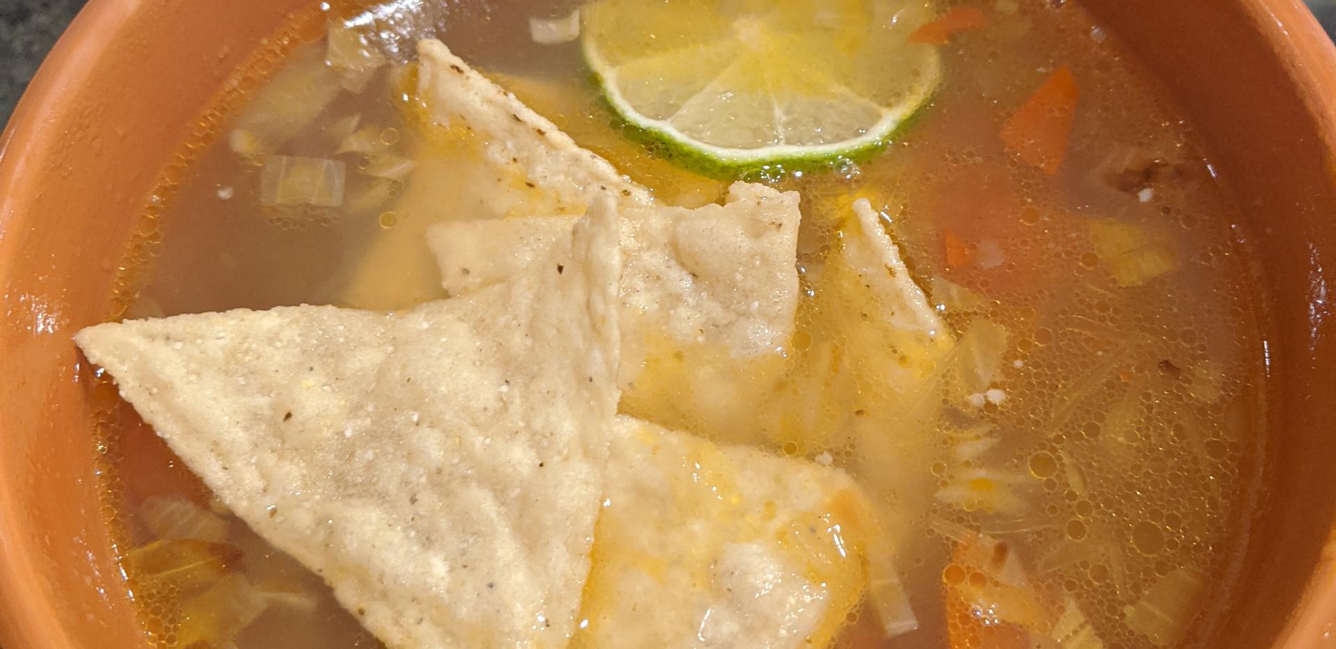 Mayan Lima Soup