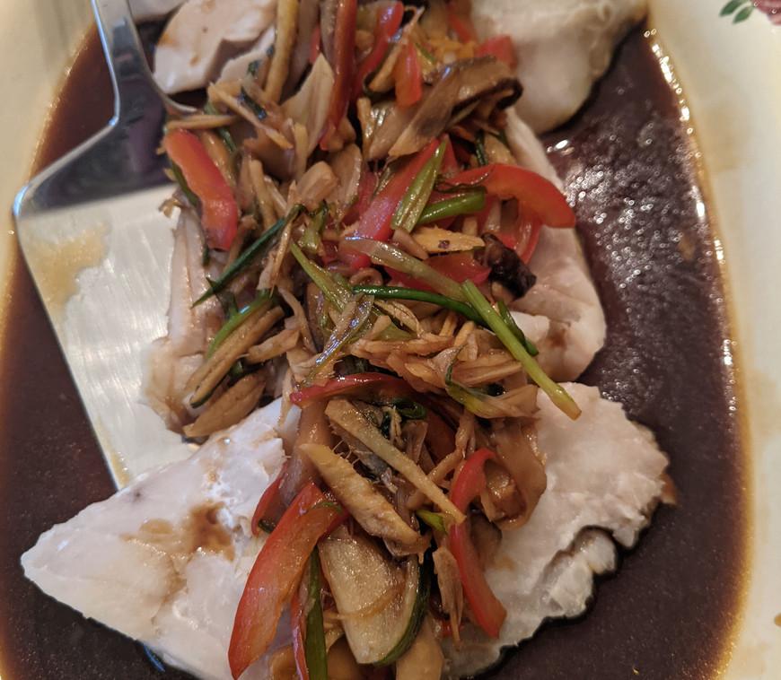 Thai Ginger Fish