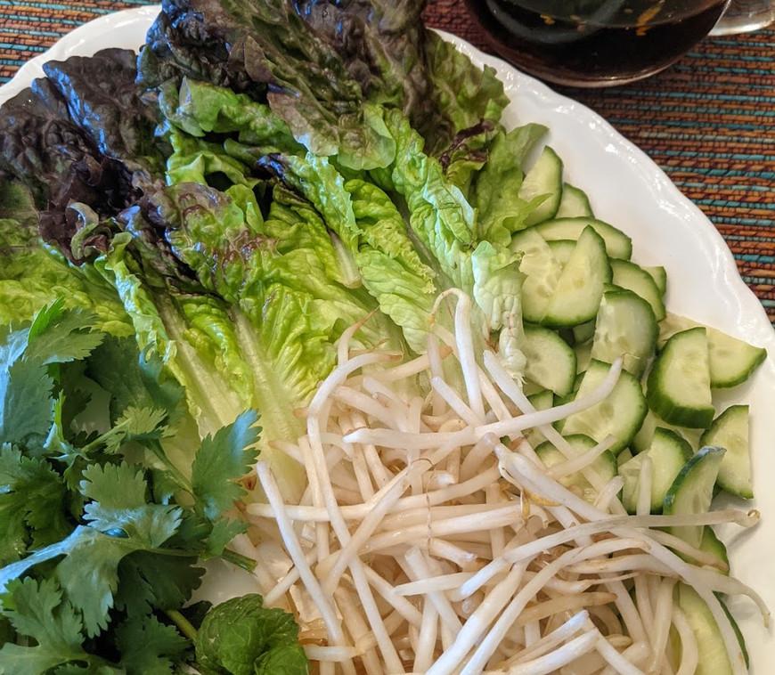 Table Salad & Nuoc Cham