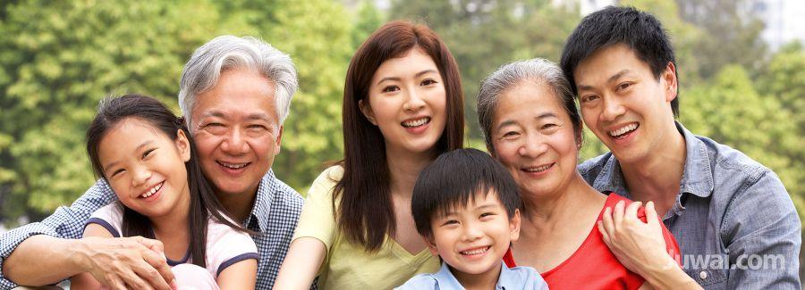 AISIAN CHINESE FAMILY