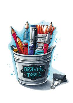 Marker illustration