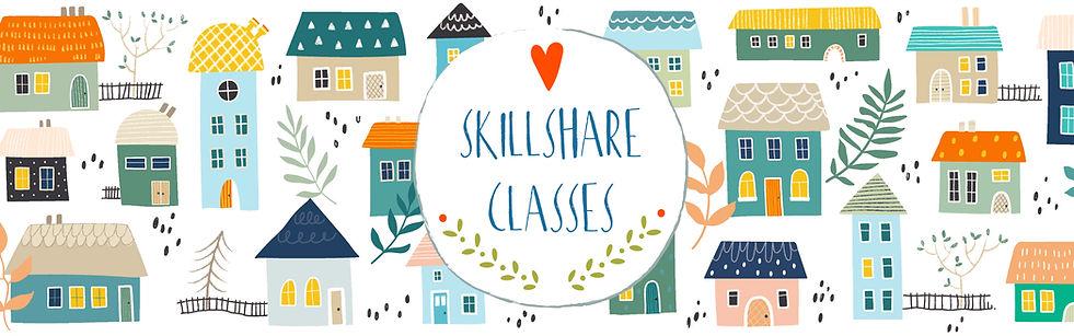 Skillshare classes banner