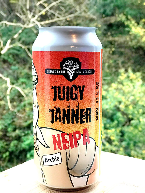 Juicy Janner  Hazy IPA 5.5%  440m can