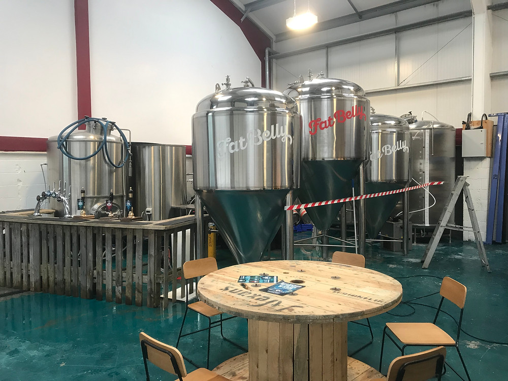 Conical vessels for Lagering Coast at the Brewery