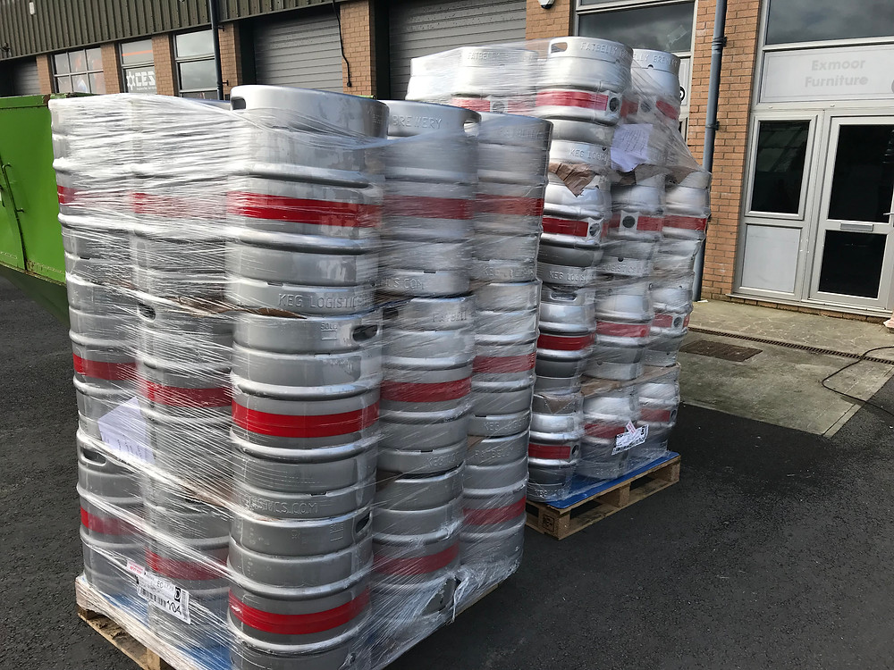 New Kegs ready for filling
