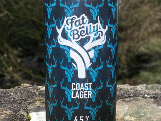 Coast Lager in Cans