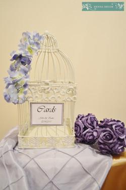 Lavender Birdcage