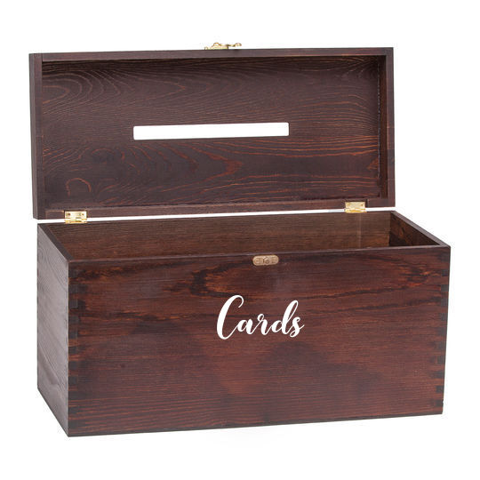Elegant Wood Card box